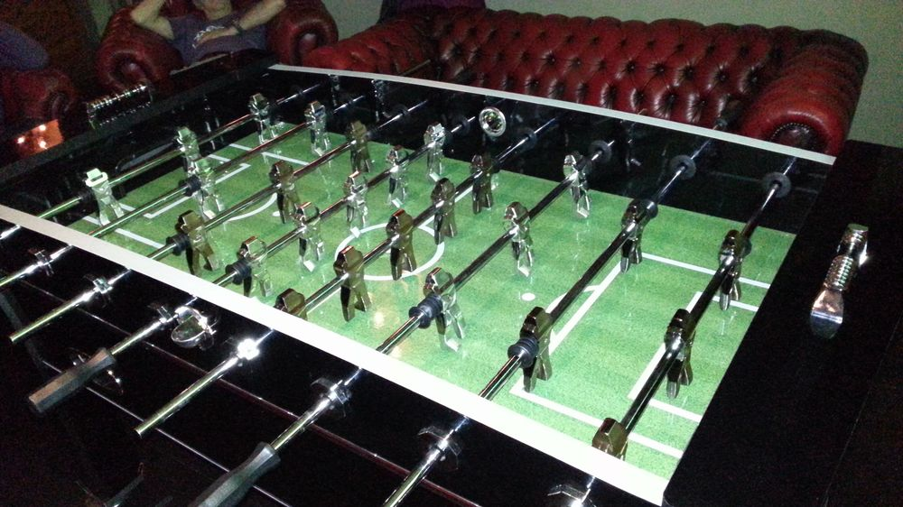 Table football - the royal edition