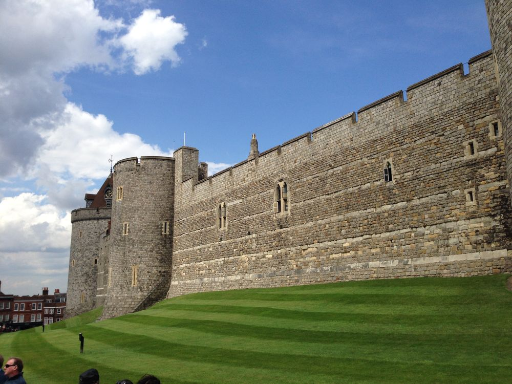 The walls of Windsor